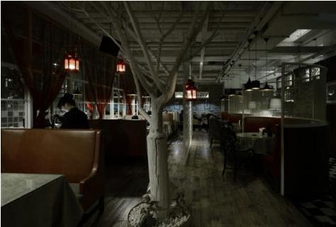 復古時尚—新疆陽派西餐廳設計