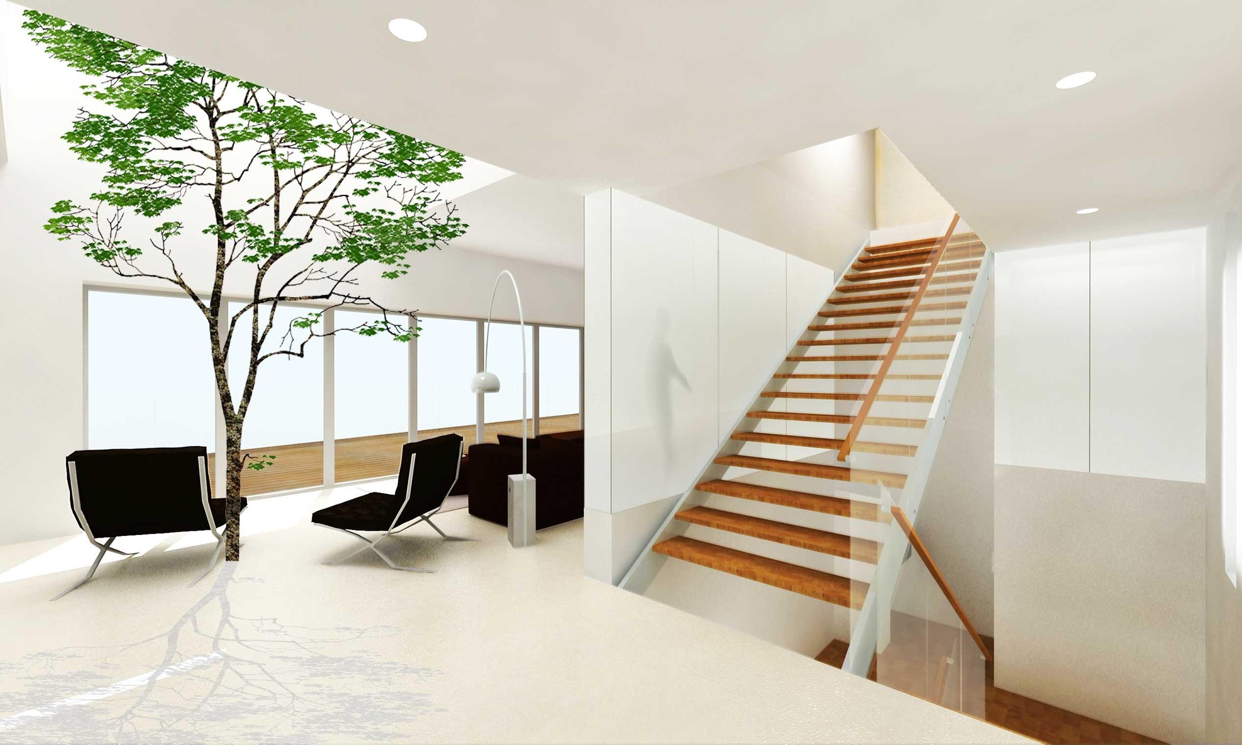 楼梯间柜子设计图片展示