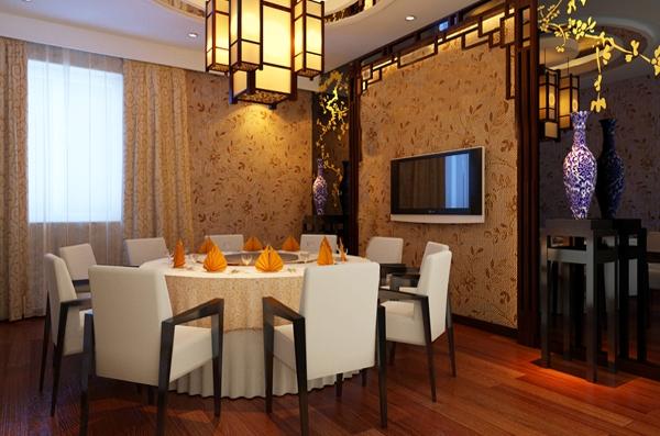 东北农家菜饭店装修效果图 -北京办公室装修 酒店装修 办公装修设计
