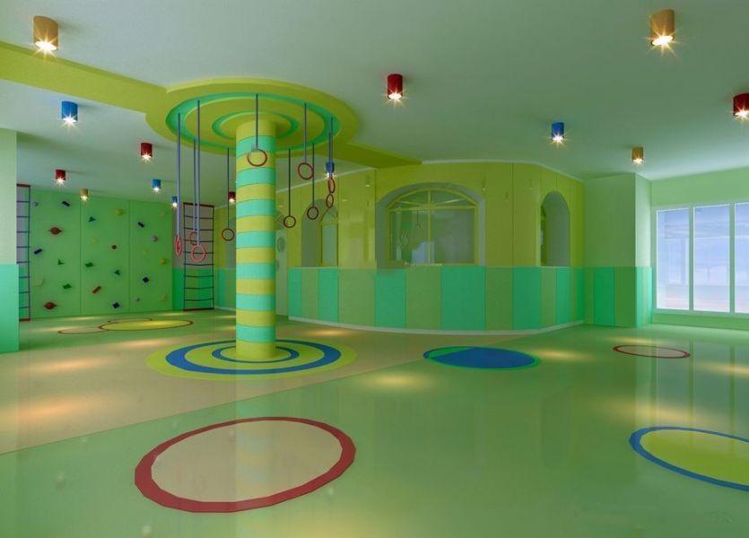 儿童教育学校培训机构装修效果图-东方华美装饰