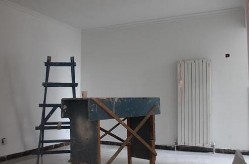 房屋装修。瓷砖。 壁纸