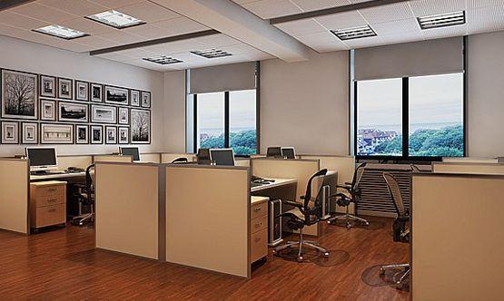 办公室装修设计中整体感该如何塑造?