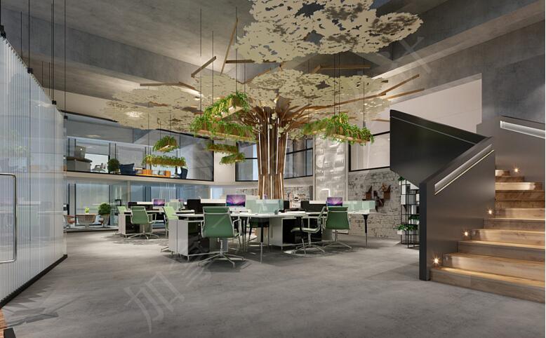 【东方华美】办公空间装修|办公室装修怎么设计才好看