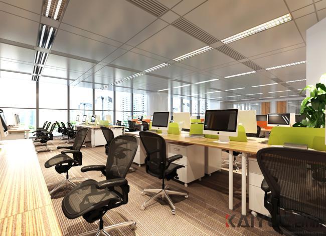 【东方华美】办公空间装修|办公室装修设计如何打造活跃办公环境