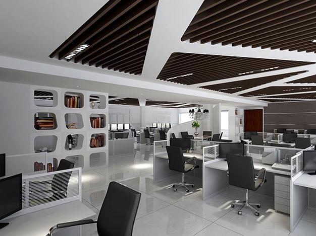 【东方华美】办公室设计装修|办公室装修:不同人员办公室设计布